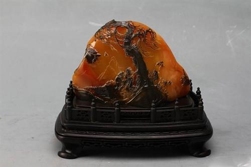 黄腊石——传统的意象品赏之石