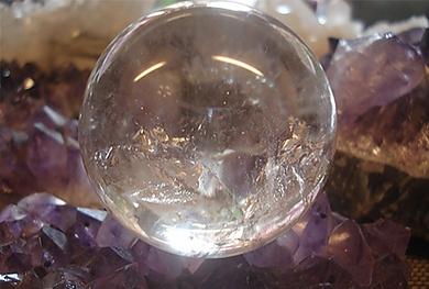 珠宝学友说丨水晶球算命与《周易》占卜