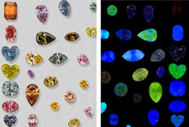 钻石光致发光光谱及宝石学应用介绍