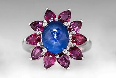 """由GRS创立的红宝石和蓝宝石和它们在国际拍卖会的表现——对GRS类型的""""鸽血红""""和""""皇家蓝""""颜色概念认同的历程"""