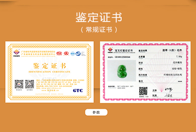 GTC鉴定证书(常规证书)