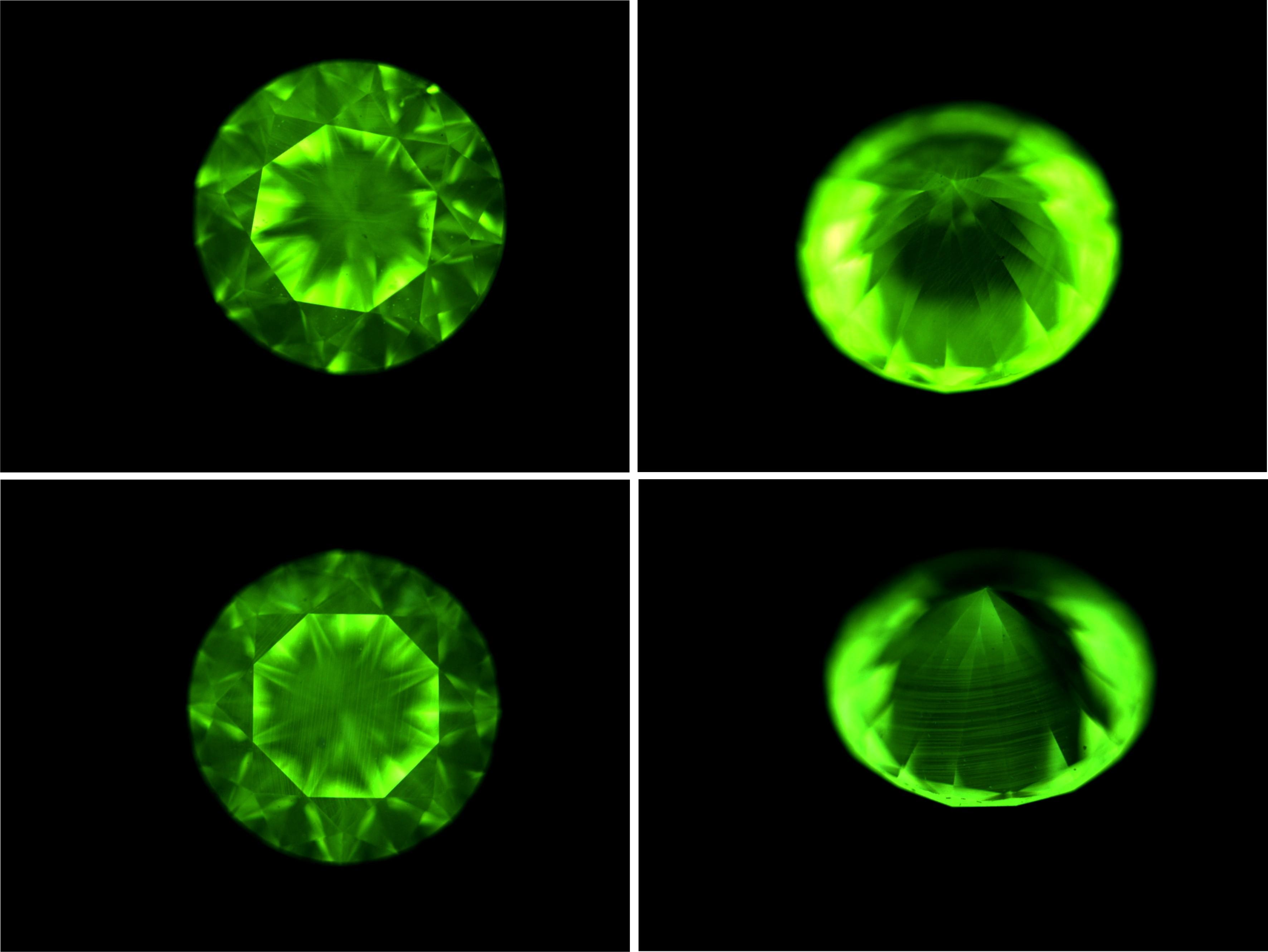 绿色钻石手绘图